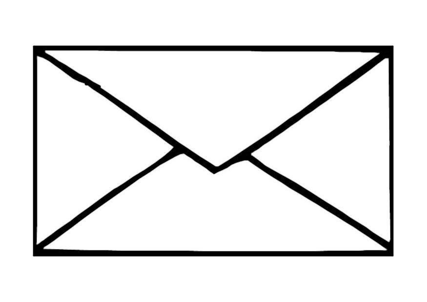 Церковный праздник, картинка письмо конверт для детей
