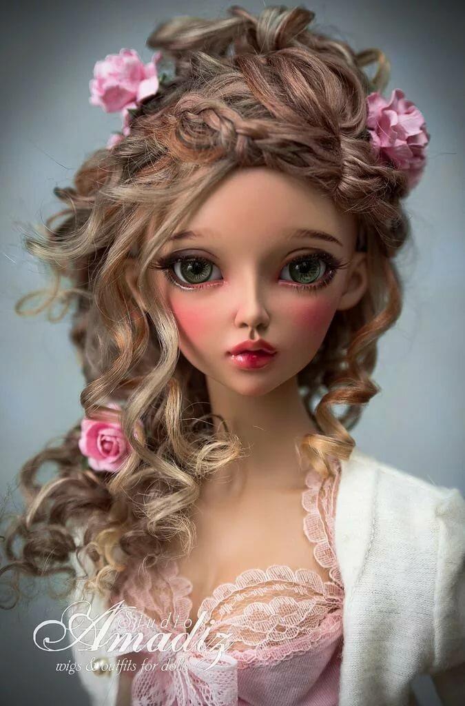 красивые прически для кукол картинки найдете