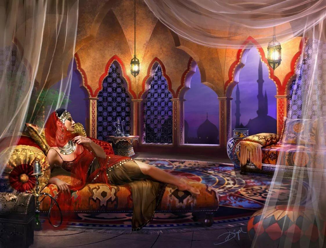восточные сказки картинки из сказок