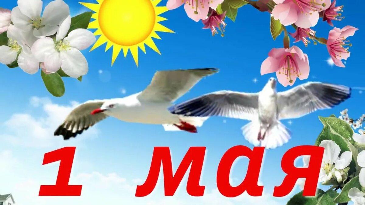 1-ое мая картинки, московская открытка картинки