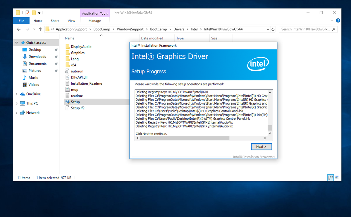 Find and install drivers for bootcamp windows 10 without Boot Camp