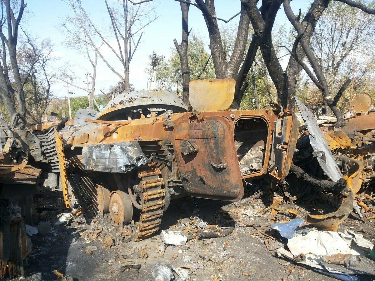 фото разбитой и подбитой военной техники сработаем