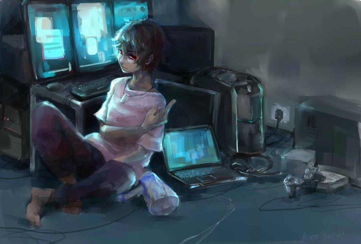 Картинки геймеров арт