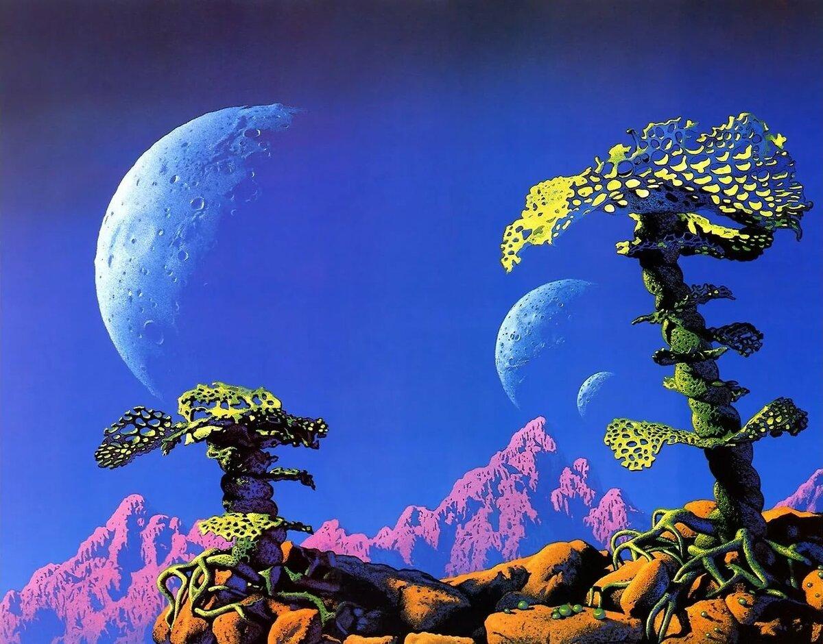 Миры других планет в картинках