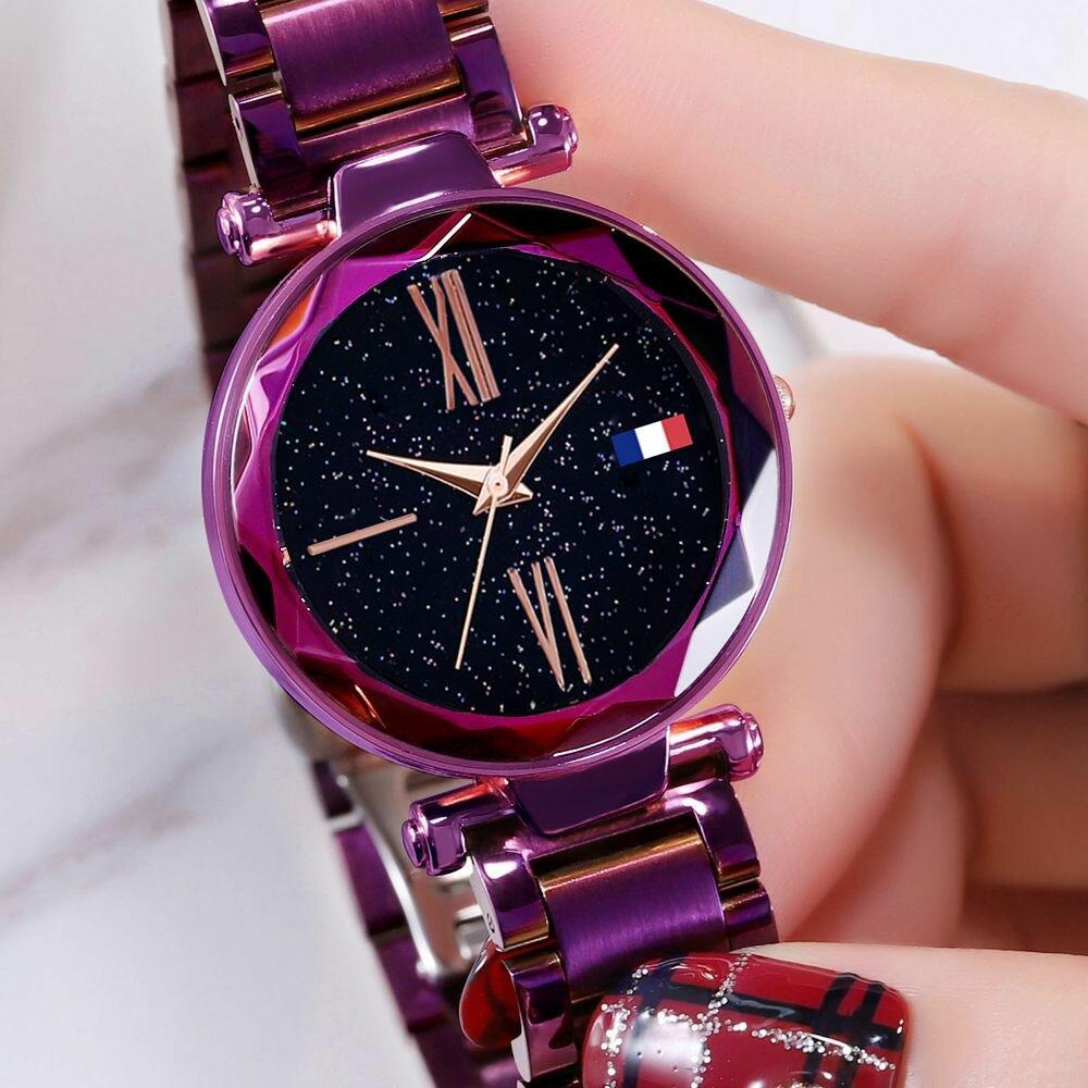 0145d52d (Стари Скай Вотч Starry Sky Watch - эксклюзивные женские часы в наборе с  браслетами. (Стари Скай Вотч