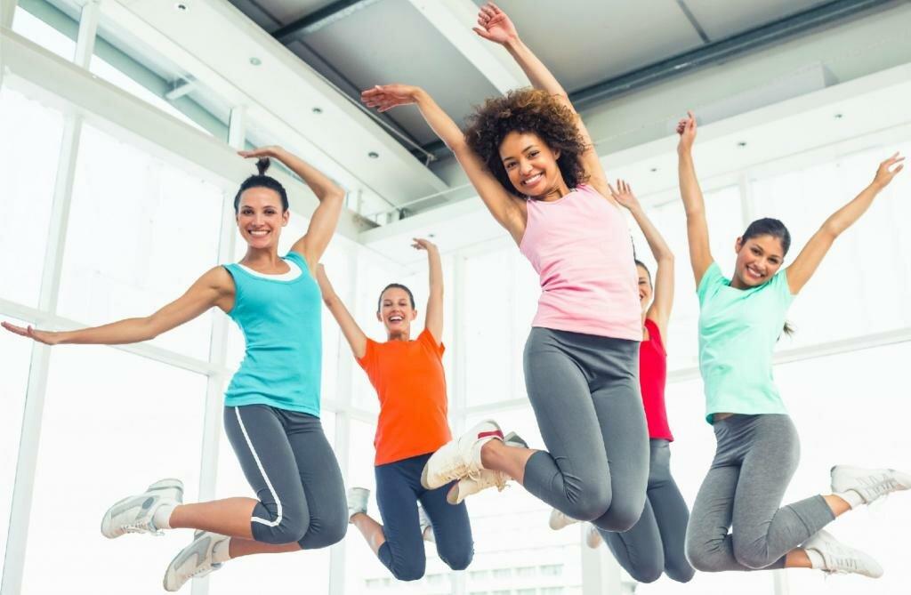 Реклама картинки фитнеса
