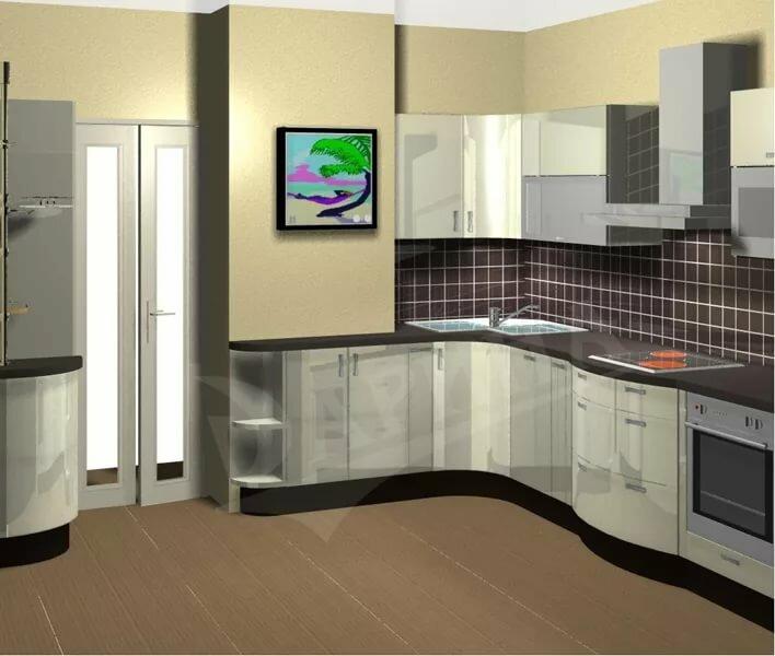 ремонт кухни с коробом фото полиэстер дает бликов