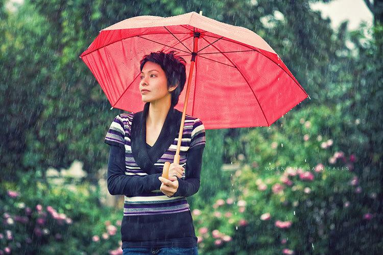 Красивые фото в дождливую погоду