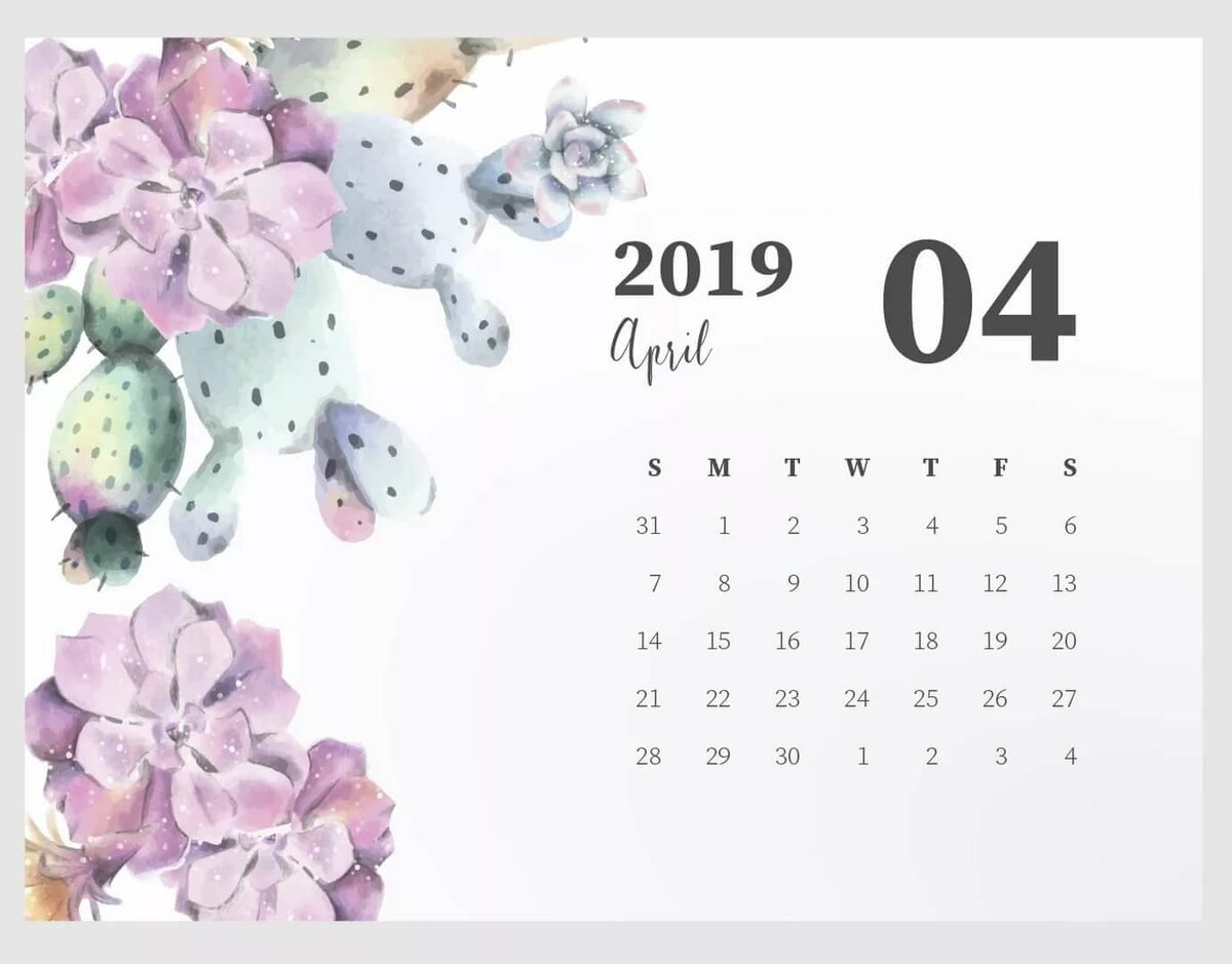 Апрель на календаре картинки