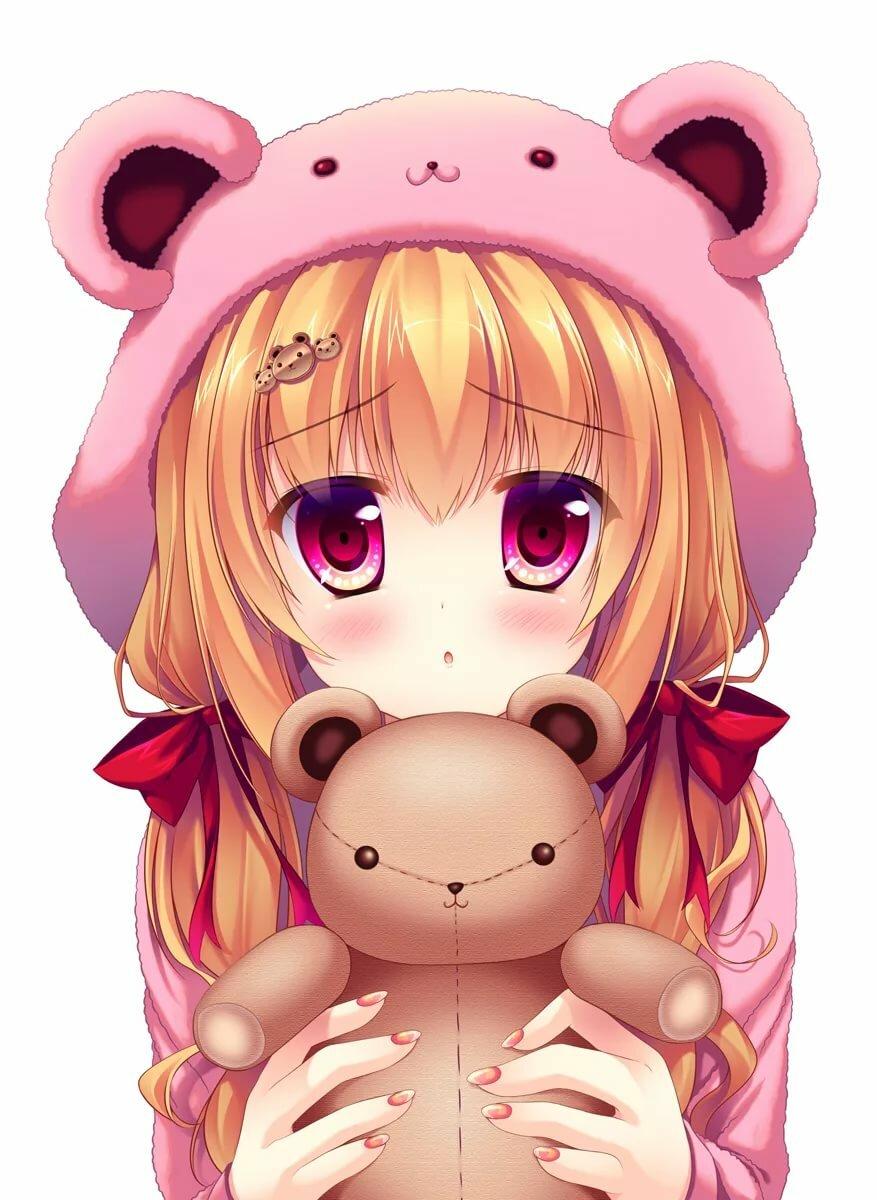 Картинки аниме милашки для девочек