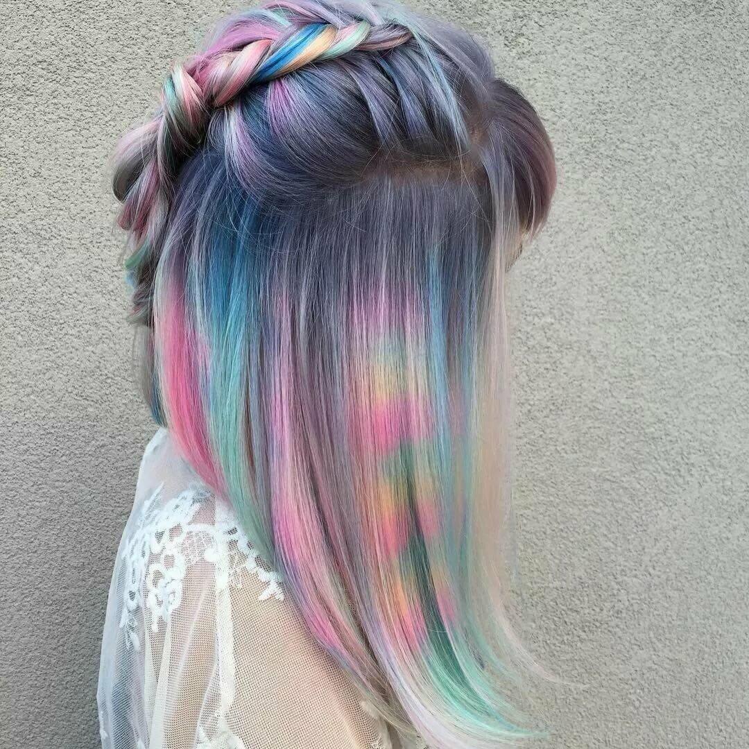 как красиво покрасить волосы фото потому