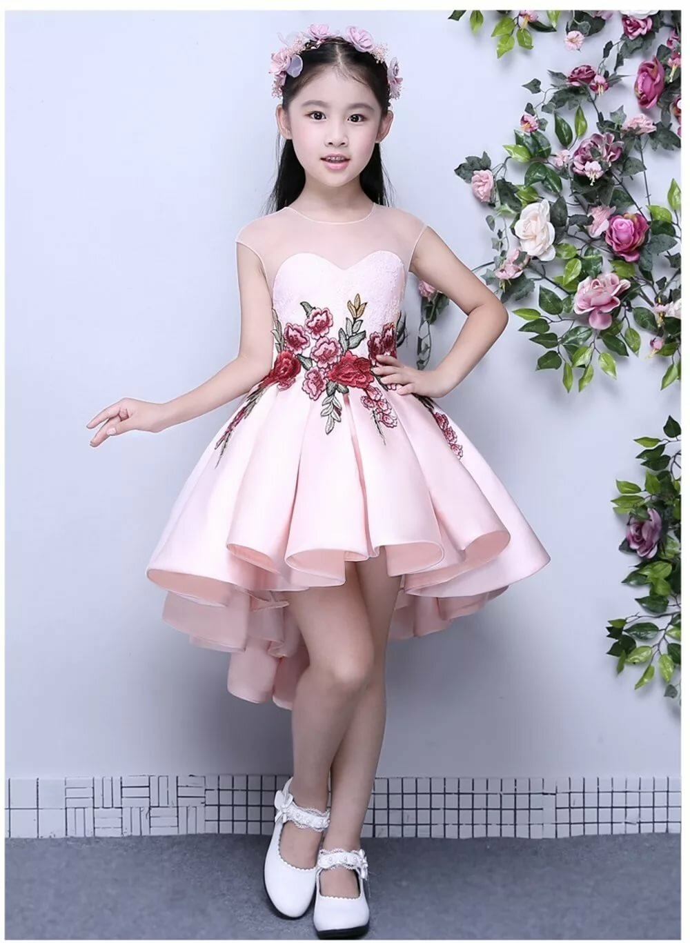 Jual A1612006 Gaun Pesta Anak Gaun Pengantin Anak Dress Anak Di