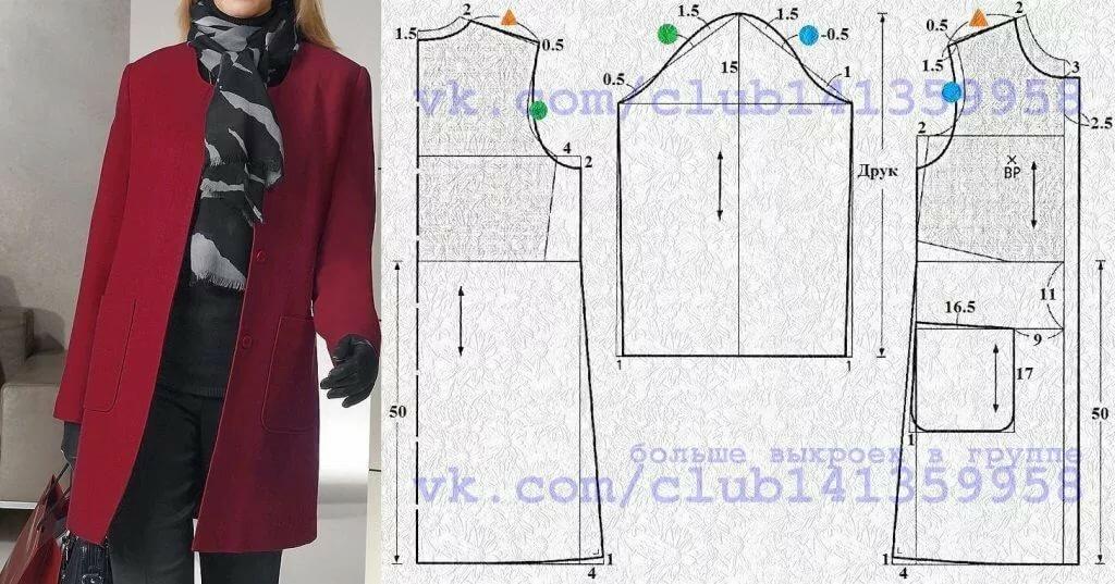 выкройки пальто женское короткое фото фотосъемка места