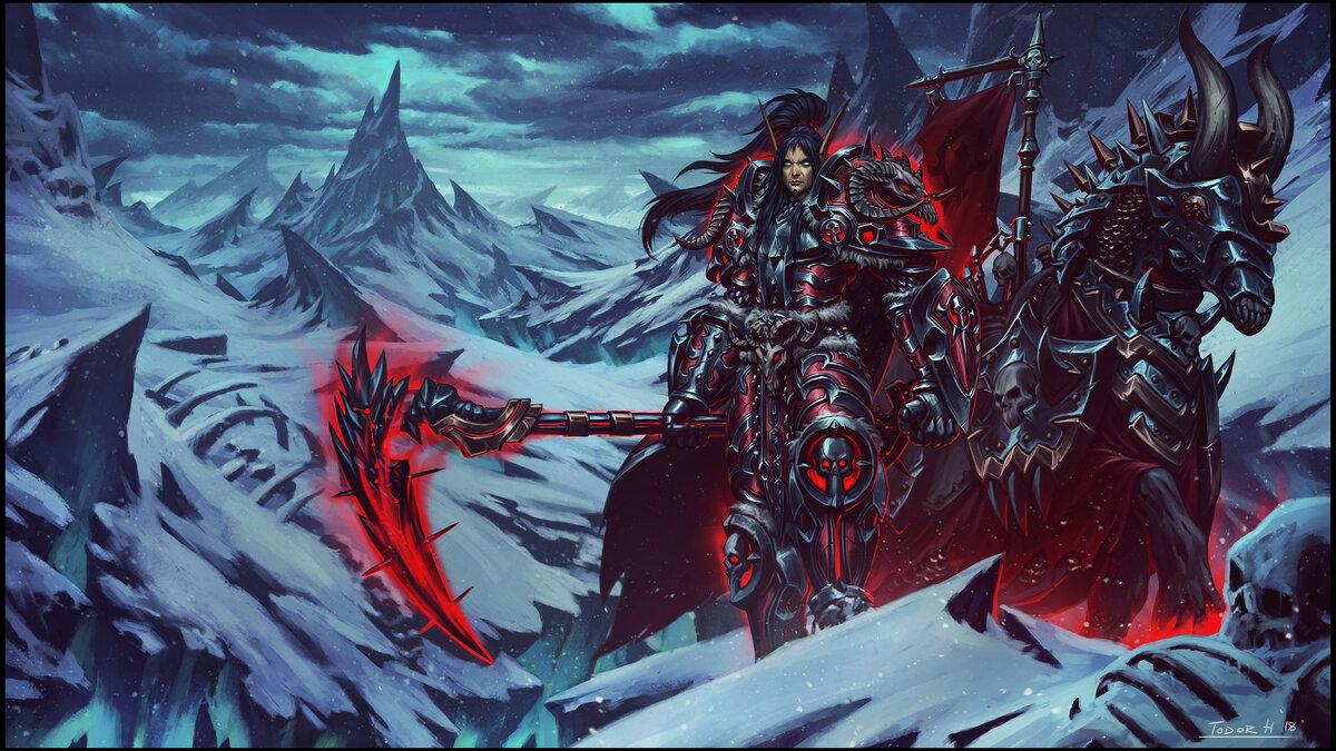 Картинки рыцарь смерти в вов