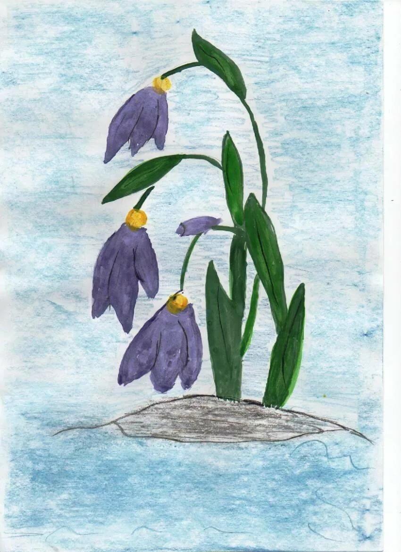 огромная картинки про весну рисовать одна
