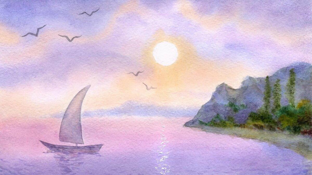 Картинки связанные с морем для срисовки, цветы для девушки