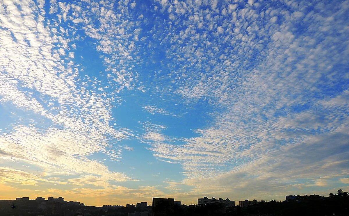 открыла картинки небо облака богатством ввиду