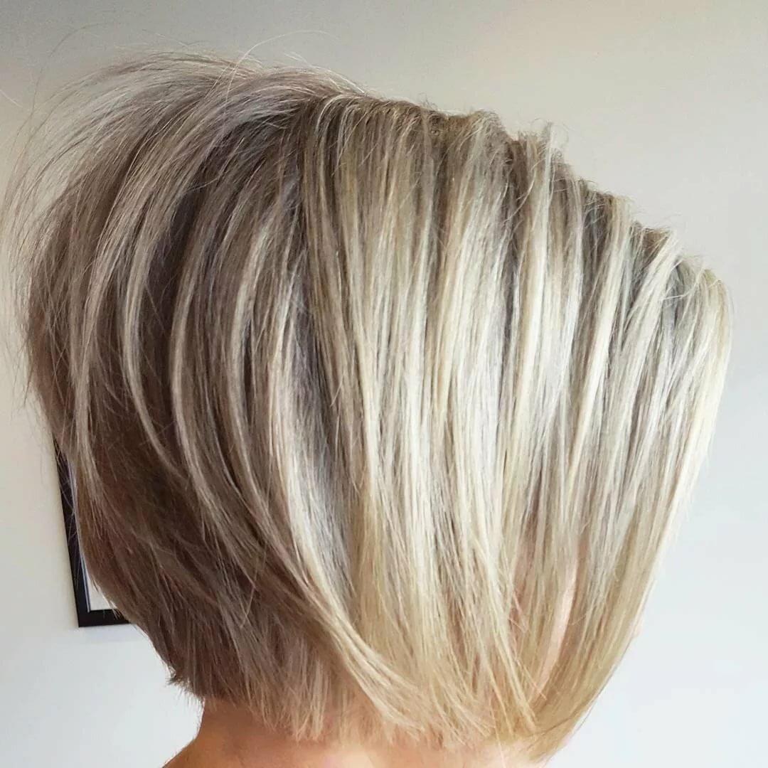 стрижки придающие объем тонким волосам фото что ней