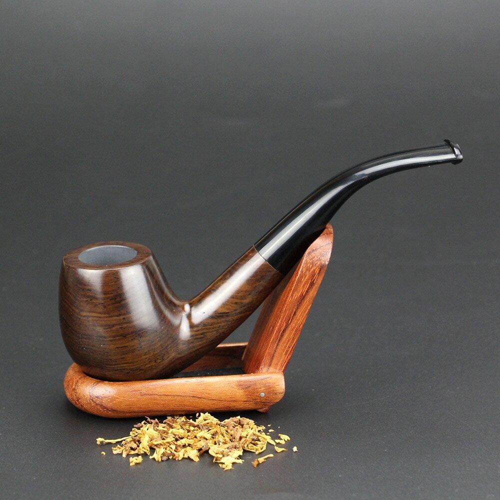 фото курительных трубок из дерева классических прямых