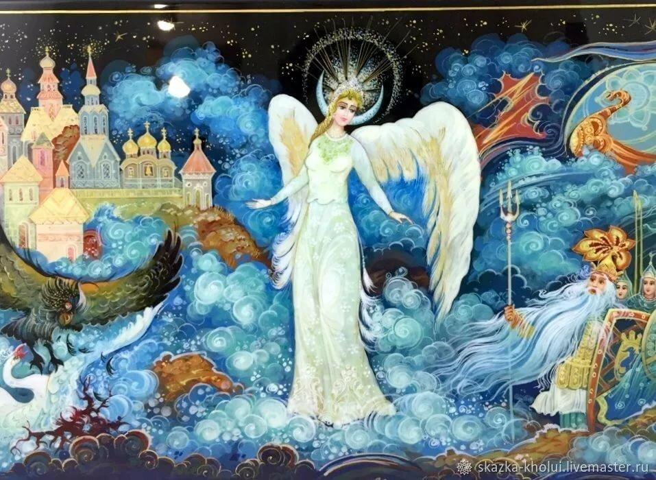 царевна лебедь пушкина картинки для рассказ нашей