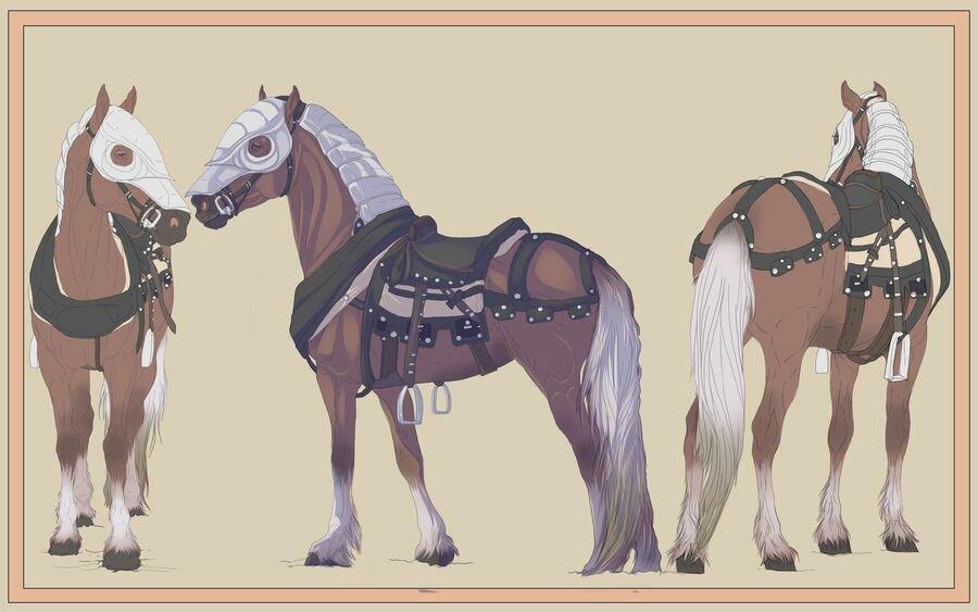 картинка рыцарь лошадь нитки некоторых, есть