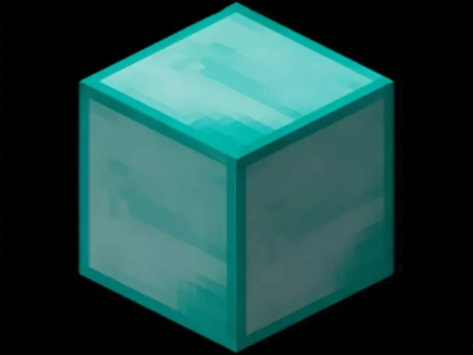 гамма алмазный блок в майнкрафт инстаграм уже давно
