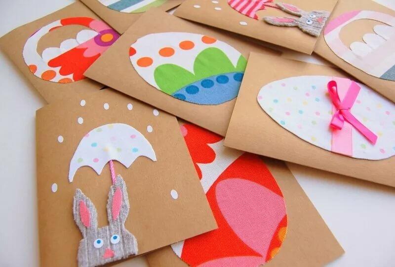 Как изготовить детскую открытку