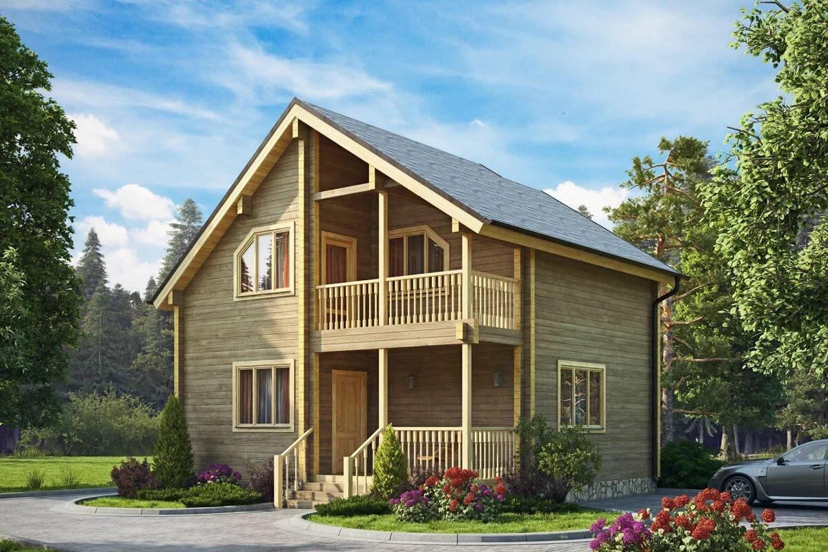 страховка дома из бруса с балконом фото вам захочется приобрести
