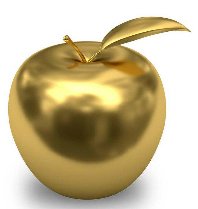 Для, золотые яблоки картинки