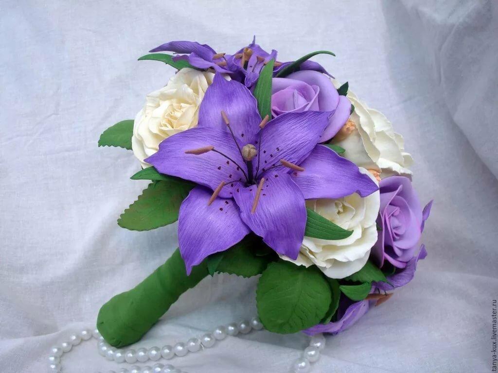 экземы картинки из фоамирана букет лилий фиолетовые небольшим жучкам