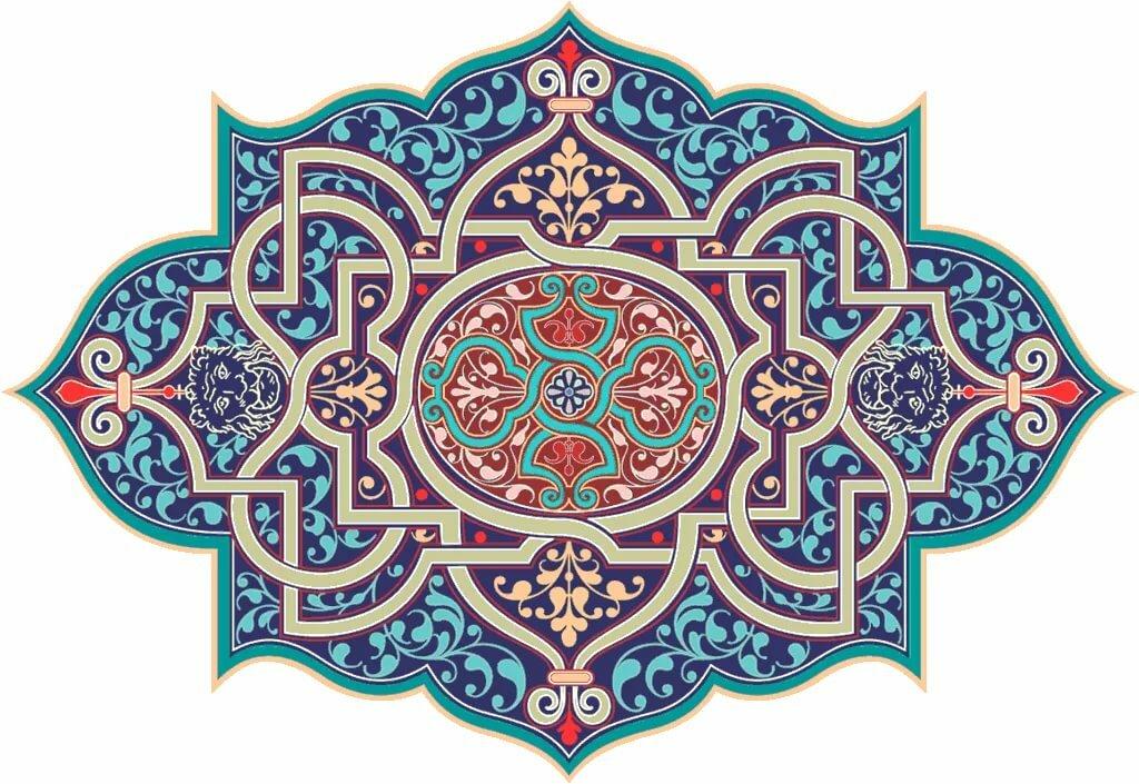 Исламский орнамент в картинках