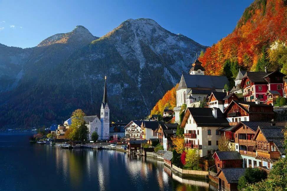 Осень и зиму в Австрии разделить затруднительно на равнинах, в горах отличия существеннее