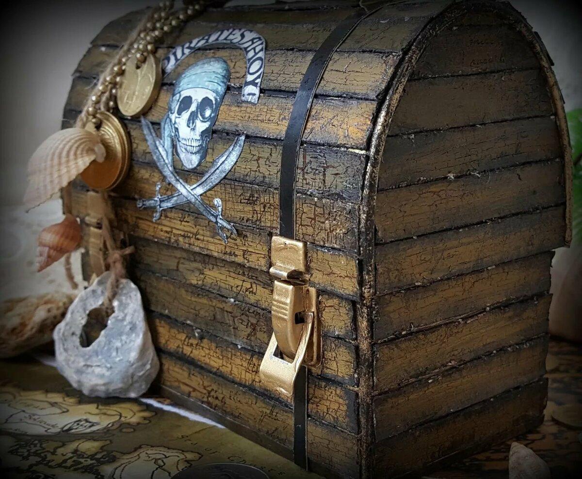 пиратская тема картинки сундук поводу