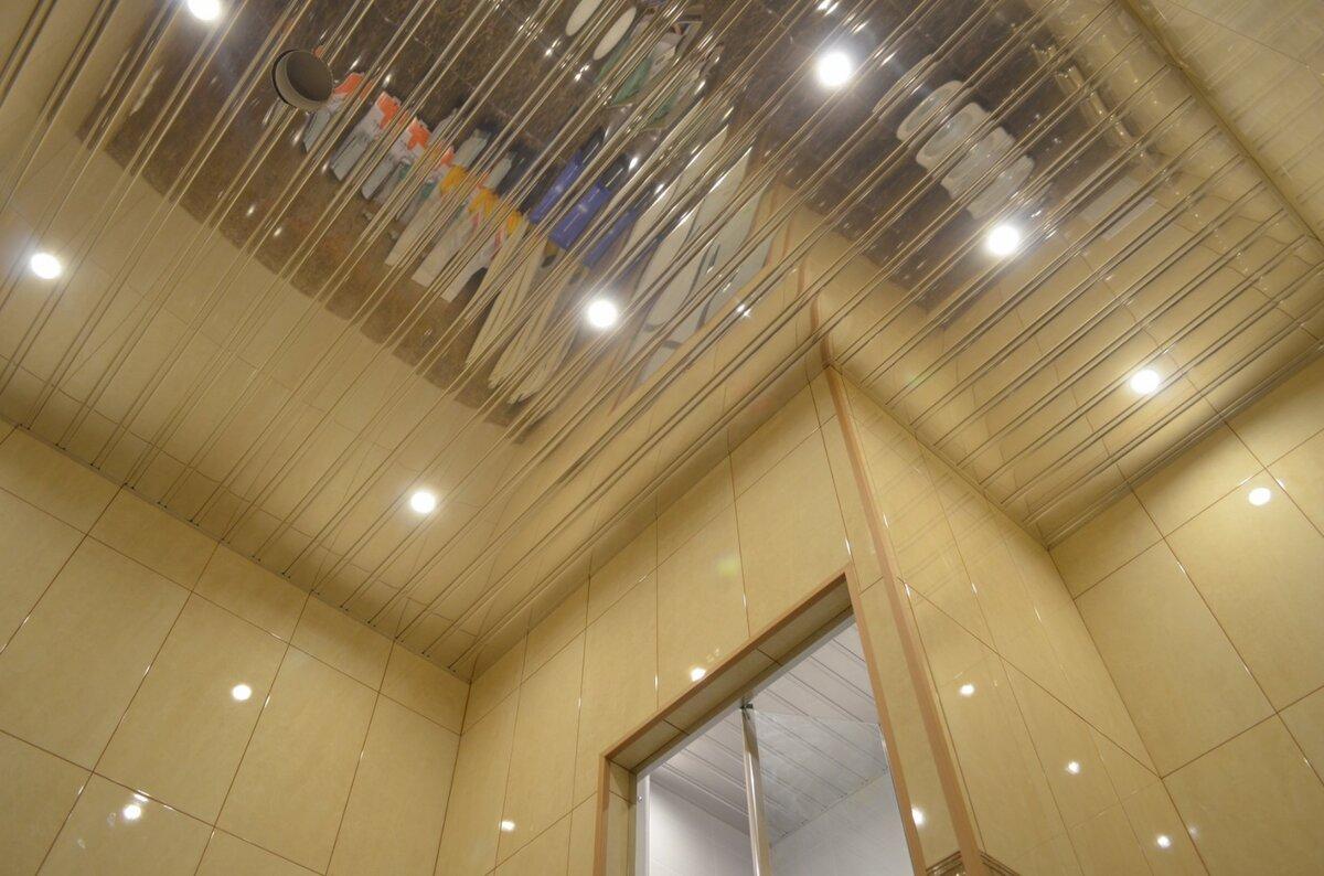 Реечный потолок №58