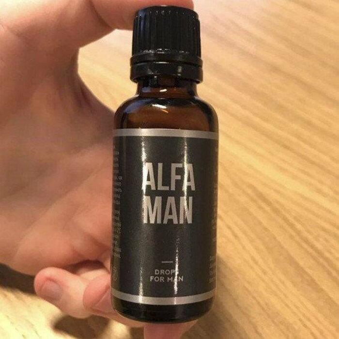 Alfa Man - капли для потенции в Коврове
