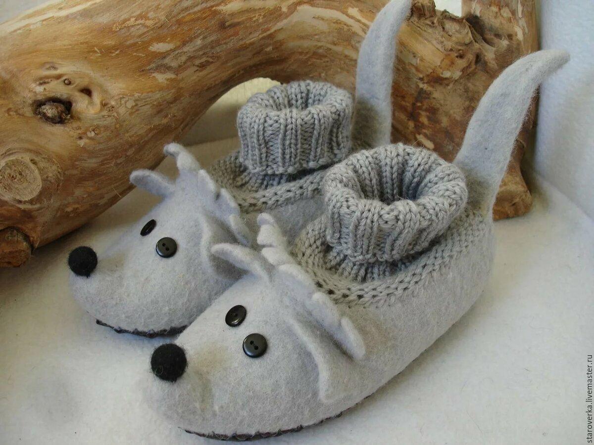 Тапочки с мышкой