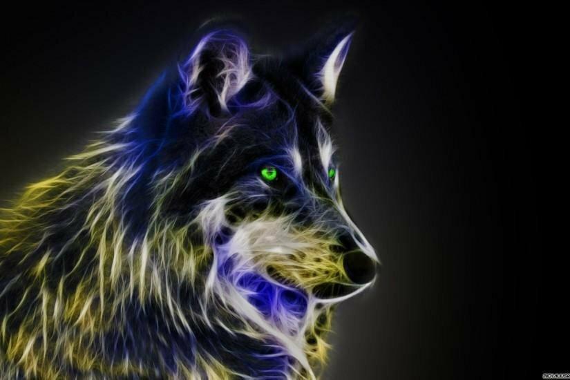 крутой волк в картинках большое