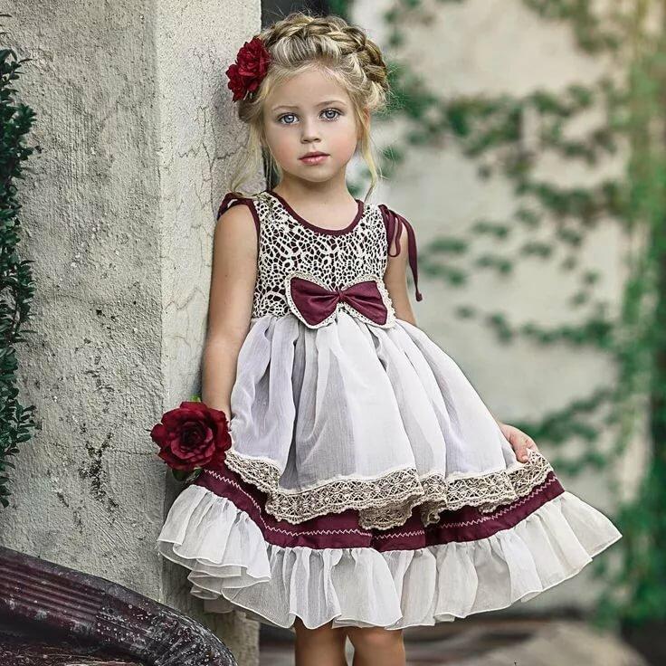 Модные платья детский картинки