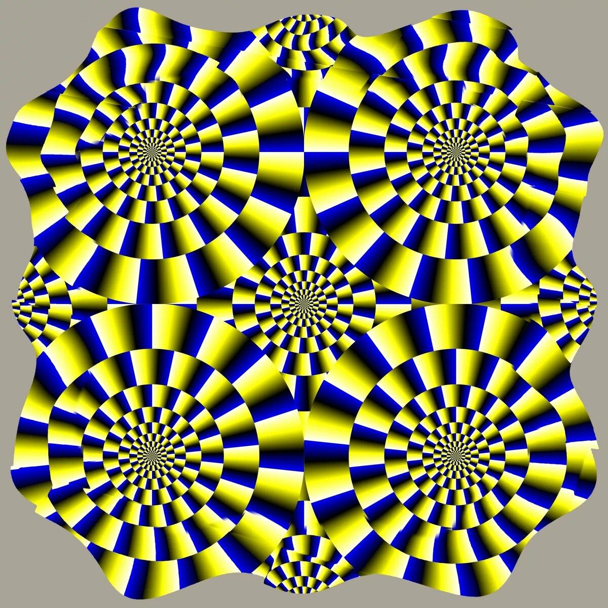 иллюзия картинки много образы должны