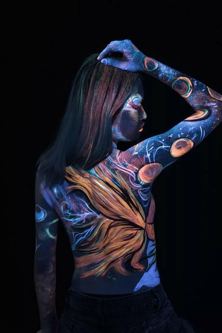 новейшие картинки на теле коже
