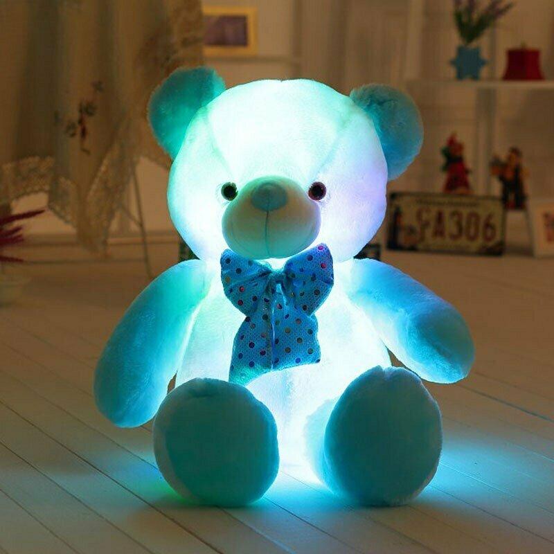 Светящийся плюшевый мишка в Отрадном