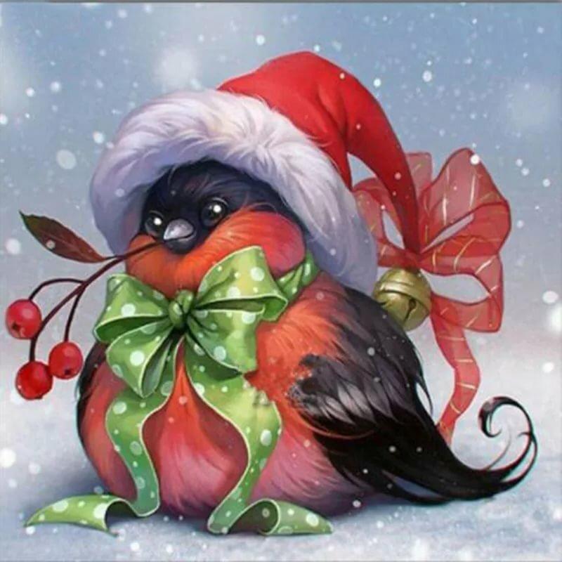 Зимние прикольные открытки с добрым утром, цветами