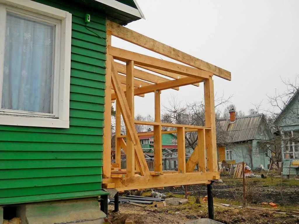 Пристройка к деревянному дому проекты фото