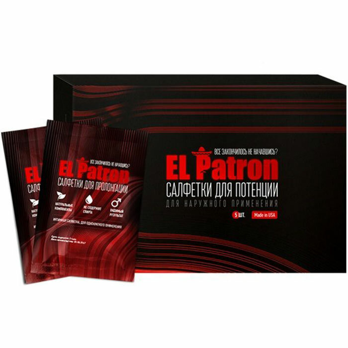 El Patron - салфетки для потенции в Махачкале