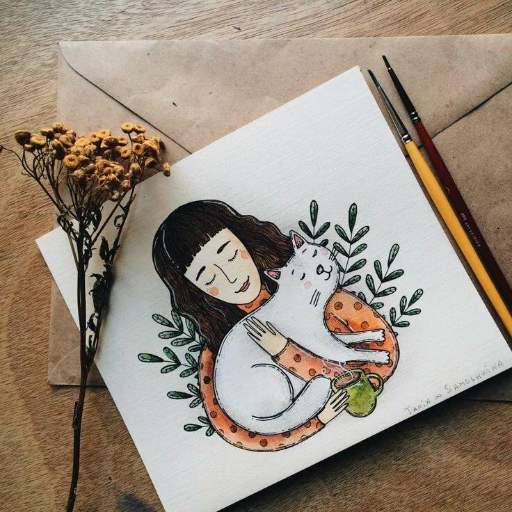Креативные рисунки для скетчбука