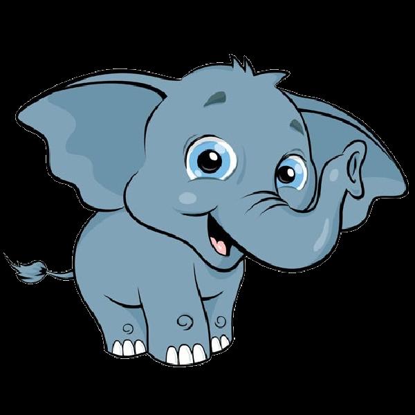 Днем, картинки слоников для детей