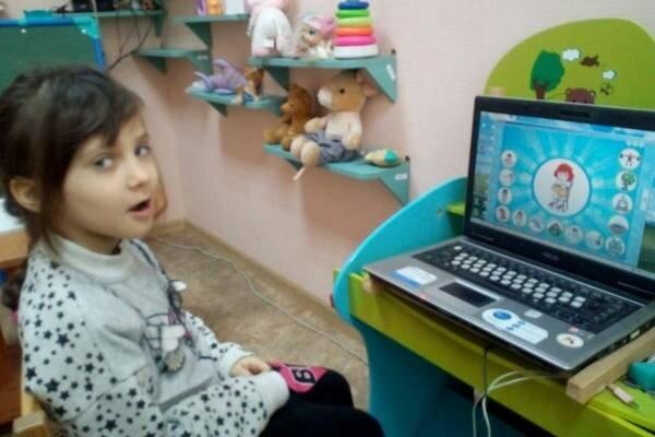 Активация речевых функций и общее развитие детей в лечебнице Алчевска
