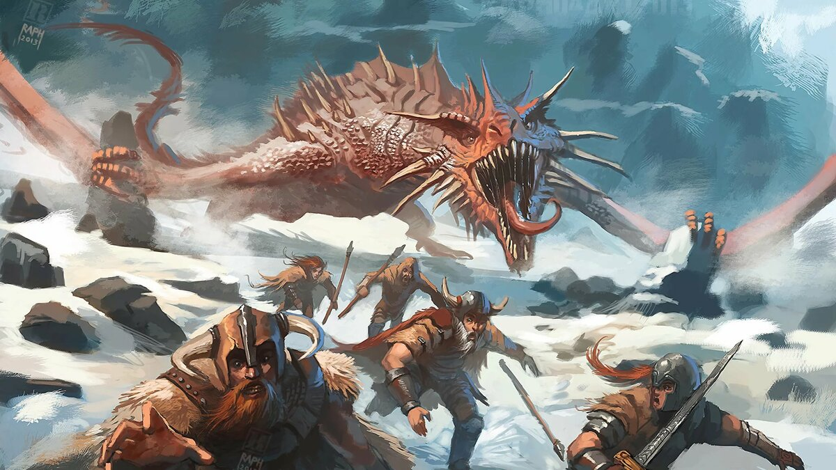 что картинки драконы в сражениях пойти направо