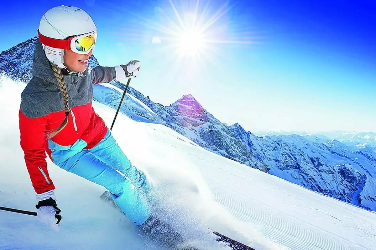 девушка прославилась, как выглядят горные лыжи фото рано утром понял