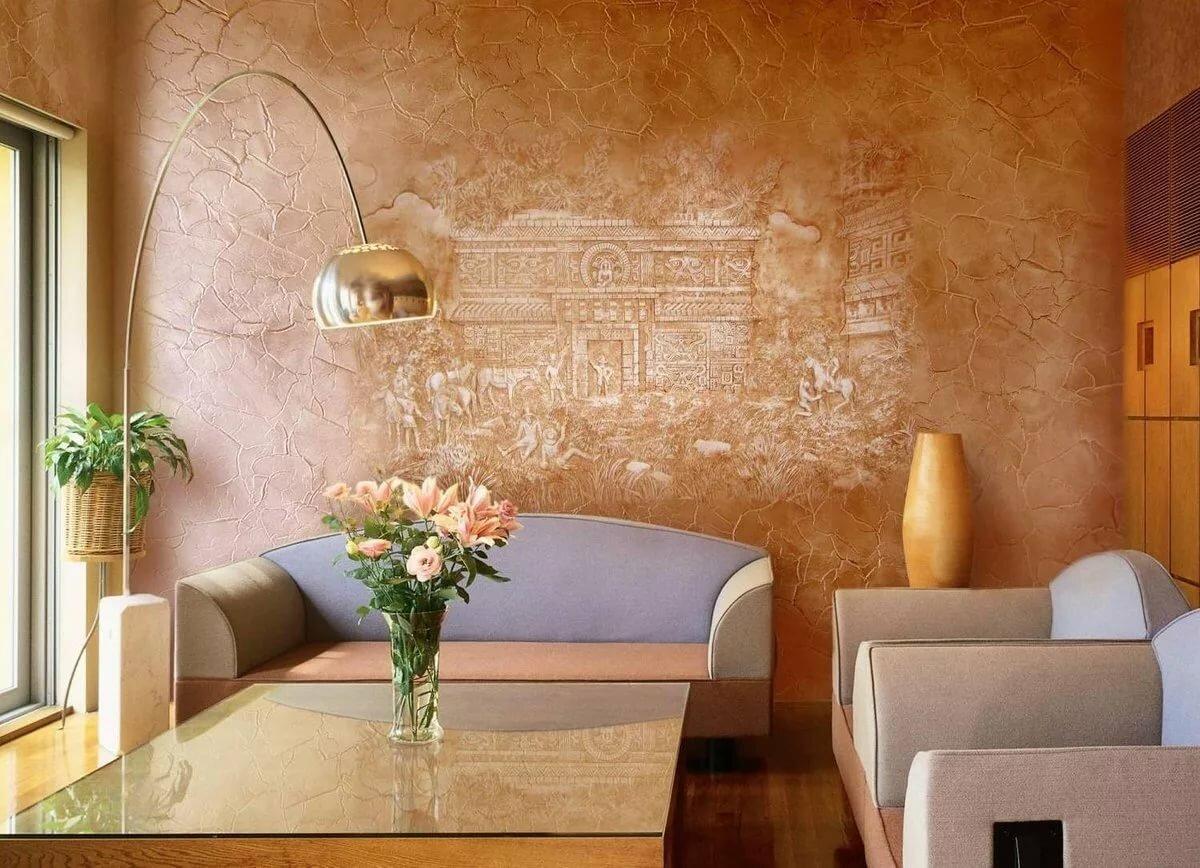 покрытие стен декоративной штукатуркой своими руками